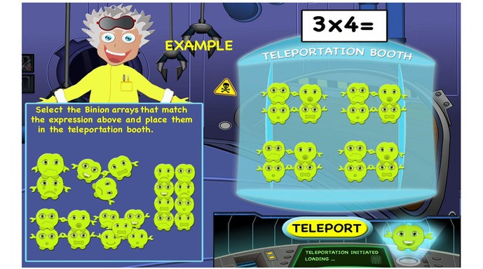 Multiplication Mission – arrays, properties, multiples, factors, division